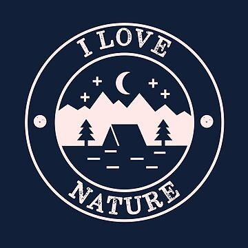 i love nature minimal by happinessinatee