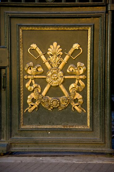 Coat Of Arms Door by phil decocco