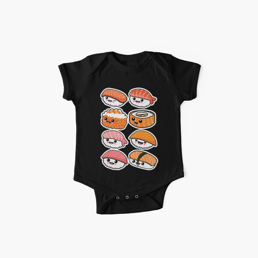 Sushi-Familie Baby Body
