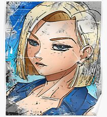 Android 18 Poster