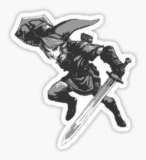 Link Monochrome Sticker