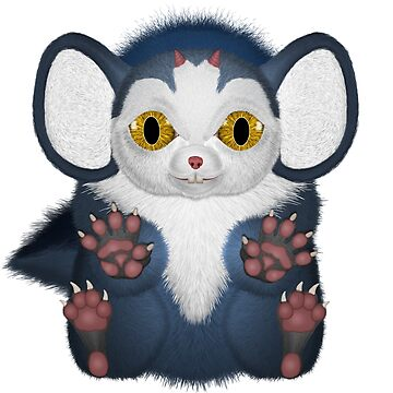 Fu Mouse Yellow Eyes Slented  by ratherkool
