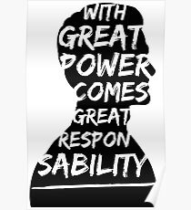 Great Power (Andrew Garfield) Poster