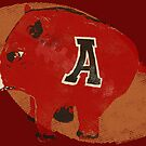Arkansas Razorback Football Gifts by Ginny Luttrell