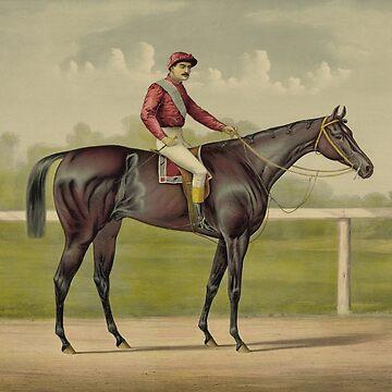 Grand Racer Kingston - Vintage Horse Racing  by warishellstore
