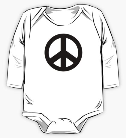 Peace Sign Symbol T-Shirt Kids Clothes