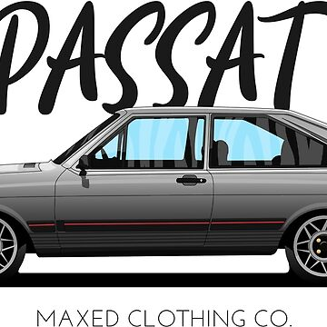 VW Passat GTS 1989 (gray) by monstta