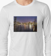 Docklands night Long Sleeve T-Shirt