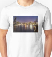 Docklands night Slim Fit T-Shirt
