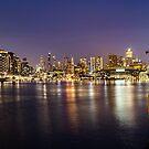 Docklands night by Aiin Ojani