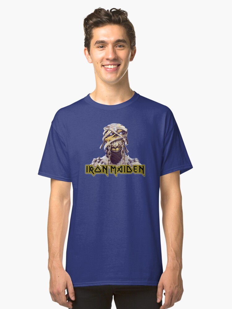 Iron Maiden Powerslave Tribute Classic T-Shirt Front