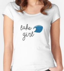 Lake Girl Women's Fitted Scoop T-Shirt