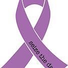 Seize the Day Epilepsy Awareness Ribbon  by Kieran Rundle