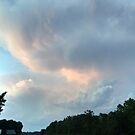 First from last night's sunset - a cumulus study by Nadia Korths