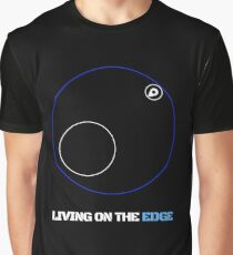 Living On The Edge of the Safe Zone Graphic T-Shirt