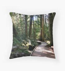 Trail of the Cedars - Glacier National Park, Montana, USA Throw Pillow