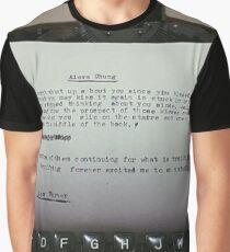 - alex turner Graphic T-Shirt