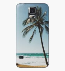 Palm Tree By The Beach  Case/Skin for Samsung Galaxy