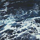 Dark Stormy Ocean Pattern by AlexandraStr