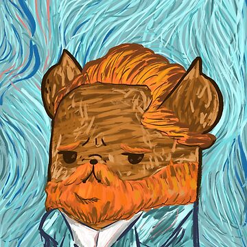 Vincent Bub Gogh by fluffymafi