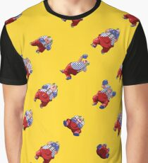 Mad Clown Pattern Graphic T-Shirt