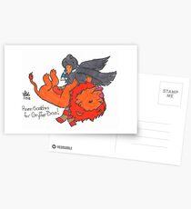 Raven Scatches Postcards