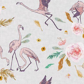 Paradisio Flamingo by nouveaubohemian
