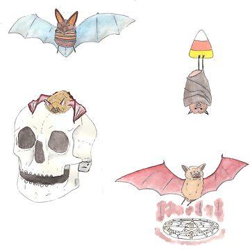 Bat Herd by lusavy