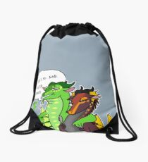 Eve, Play Descpacito  Drawstring Bag