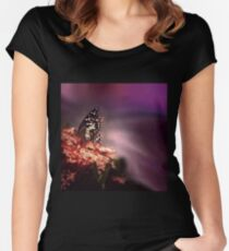 Beauty is the butterfly  Women's Fitted Scoop T-Shirt