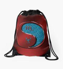 Scorpio the Scorpion Drawstring Bag