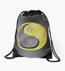 Rabbit Yin Metal Drawstring Bag