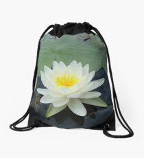 WATERLILY - NYMPHAEA ODORATA  Drawstring Bag