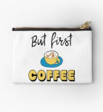 But first - coffee Studio Pouch