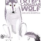 «Totem the Canadian Wolf» de belettelepink