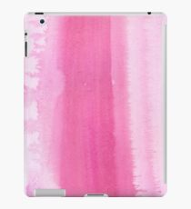 Vinilo o funda para iPad Pinceladas pintadas a mano rosadas de la acuarela rosada