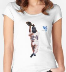 Willie Mays Women's Fitted Scoop T-Shirt