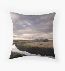 Hovells Creek & You Yangs Throw Pillow