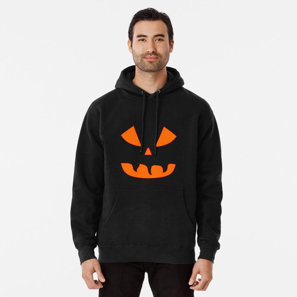 Halloween Kürbisgesicht Hoodie