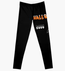 Halloween Booo Geist Leggings