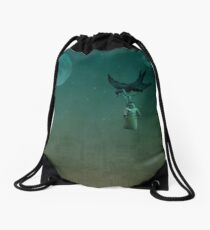 Overnight Delivery Drawstring Bag