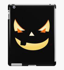 Halloween Kürbis Gesicht iPad-Hülle & Klebefolie