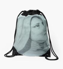 """Grotto Statue"" Drawstring Bag"