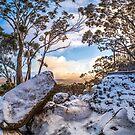 Sunrise in the Snow by Joel Bramley
