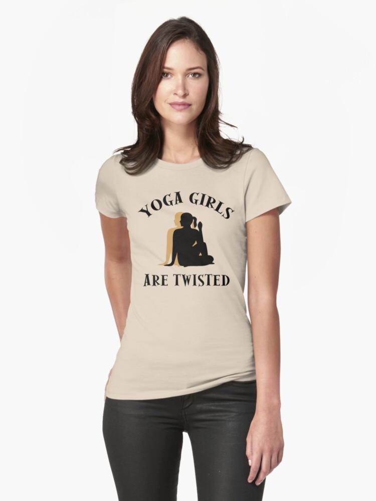 Very Funny Yoga T-Shirt by T-ShirtsGifts