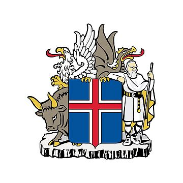 Coat of arms of Iceland by fourretout