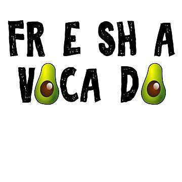 FR E SH A VOCA DO T-Shirt by birdeyes