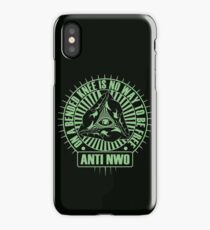 Anti NWO iPhone Case/Skin