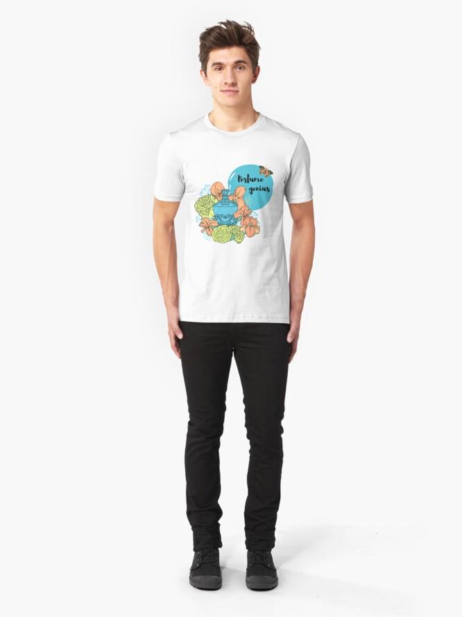 Alternative Ansicht von Parfüm Genie Slim Fit T-Shirt