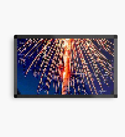 FIREWORX by RootCat Metal Print